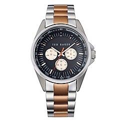 Ted Baker - Men's rose gold multifunction bracelet watch