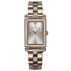 Ted Baker - Ladies gold analogue bracelet watch