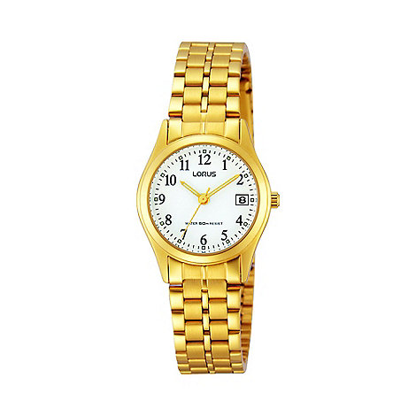 Lorus - Ladies gold bracelet dress bracelet watch