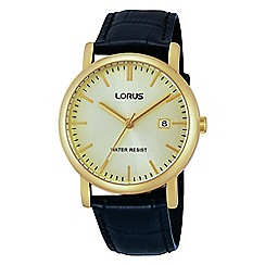 Lorus - Men's classic strap watch
