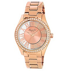 Kenneth Cole - Ladies rose gold case and rose gold bracelet