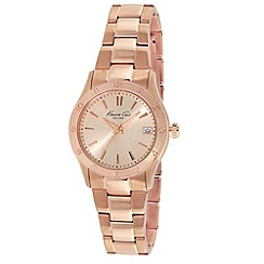 Kenneth Cole - Ladies rose gold dial rose gold bracelet