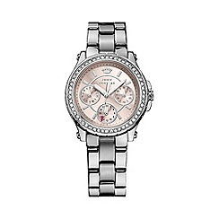 Juicy Couture - Ladies stainless steel chronograph bracelet watch