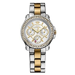 Juicy Couture - Ladies stainless steel two tone chronograph bracelet watch