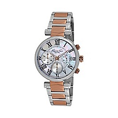Kenneth Cole - Ladies silver dial two tone bracelet