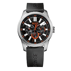 Boss Orange - Gent's black strap watch