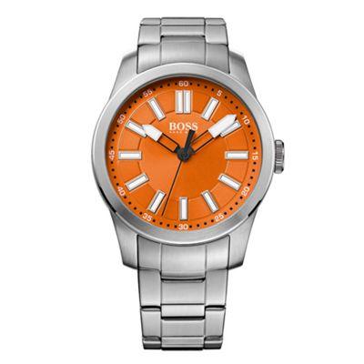 BOSS ORANGE Gent´s stainless steel bracelet watch - . -