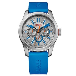 Boss Orange - Gent's blue strap watch