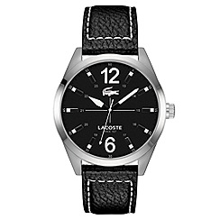Lacoste - Gent's black quartz bracletet watch