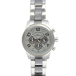RJR.John Rocha - Designer men's stainless steel round chronograph watch