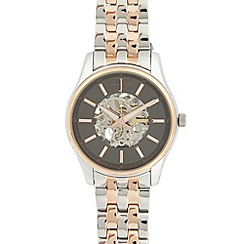 J by Jasper Conran - Designer men's stainless steel two tone automatic watch