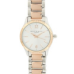 Bailey & Quinn - Ladies stainless steel two tone watch