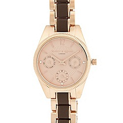Bailey & Quinn - Ladies stainless steel multi dial watch