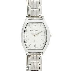 Bailey & Quinn - Ladies stainless steel tonneau bracelet watch