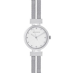 RJR.John Rocha - Designer ladies silver split mesh watch