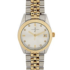 J by Jasper Conran - Ladies designer gold two tone classic bracelet watch