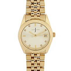 J by Jasper Conran - Ladies designer gold classic bracelet watch
