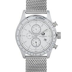Jeff Banks - Men's designer stainless steel tachymeter watch
