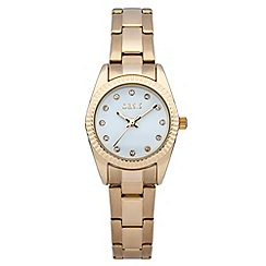 Oasis - Ladies gold tone bracelet watch