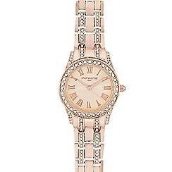 Infinite - Ladies rose gold crystal watch