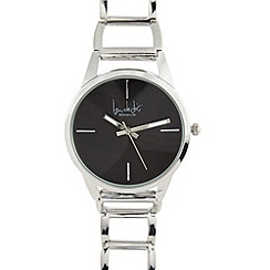 Principles by Ben de Lisi - Designer ladies silver open link watch
