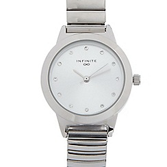 Infinite - Ladies stainless steel expander bracelet watch