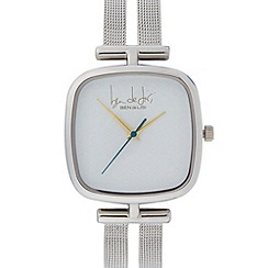 Principles by Ben de Lisi - Designer ladies silver plated geometric watch