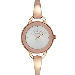 Principles by Ben de Lisi - Designer ladies rose gold plated bracelet watch