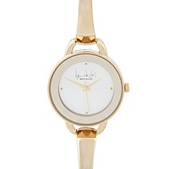 Principles by Ben de Lisi - Designer ladies gold bracelet watch