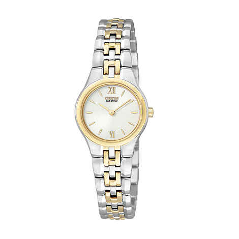 Citizen - Ladies multi coloured round face watch