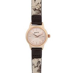 Mantaray - Ladies mini rose gold plated watch