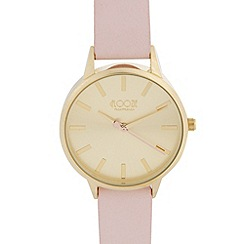 Floozie by Frost French - Ladies pale pink heart hand watch