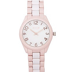 Floozie by Frost French - Pink plastic link watch