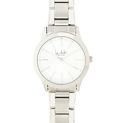 Principles by Ben de Lisi - Designer ladies silver metal link watch