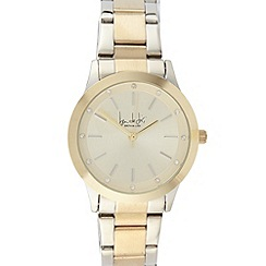 Principles by Ben de Lisi - Designer ladies stainless steel two tone bracelet watch