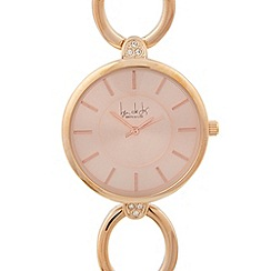 Principles by Ben de Lisi - Designer ladies rose gold ring watch