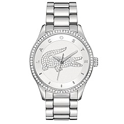 Lacoste - Ladies stainless steel siliver/white  bracelet