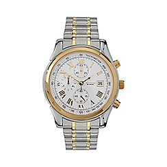 Sekonda - Men's  silver round chronological bracelet watch