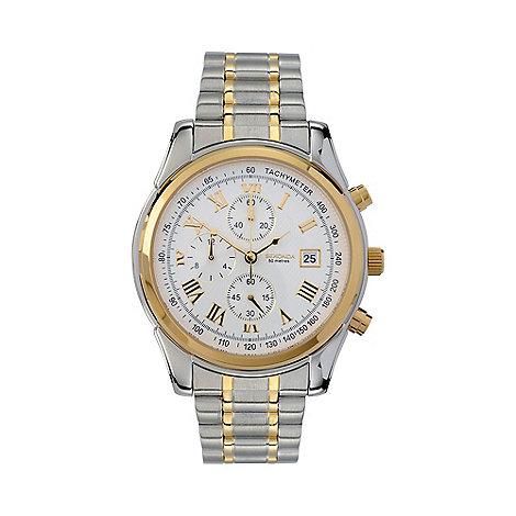 Sekonda - Men+s  silver round chronological bracelet watch 3878.27