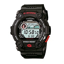 G-shock - Men's black screw dial 'g-shock' watch