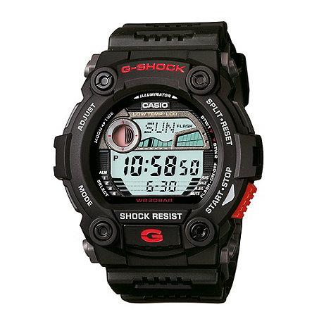 G-shock - Men+s black screw dial +g-shock+ watch