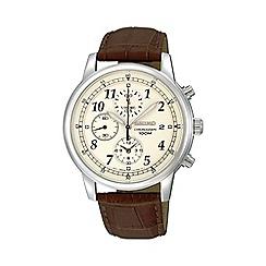 Seiko - Men's chronograph strap watch sndc31p1