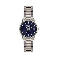Rotary - Mens 'Avenger' blue dial bracelet watch