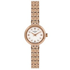 Rotary - Ladies rose gold bracelet watch