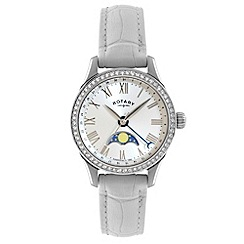 Rotary - Ladies 'Beaumont' moonphase strap watch