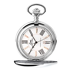 Limit - Men's Centenary collection silver coloured full hunter pocket watch.
