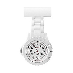 Limit - Nurses white fob watch.