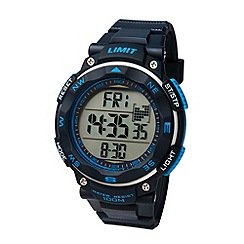 Limit - Men's blue Pro XR  silicone strap watch.