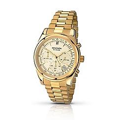 Sekonda - Mens gold plated bracelet watch