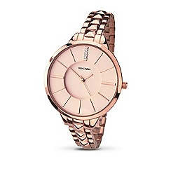 Sekonda - Ladies rose gold plated bracelet watch